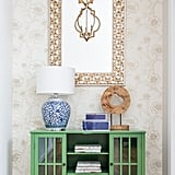 After: Floral Entryway