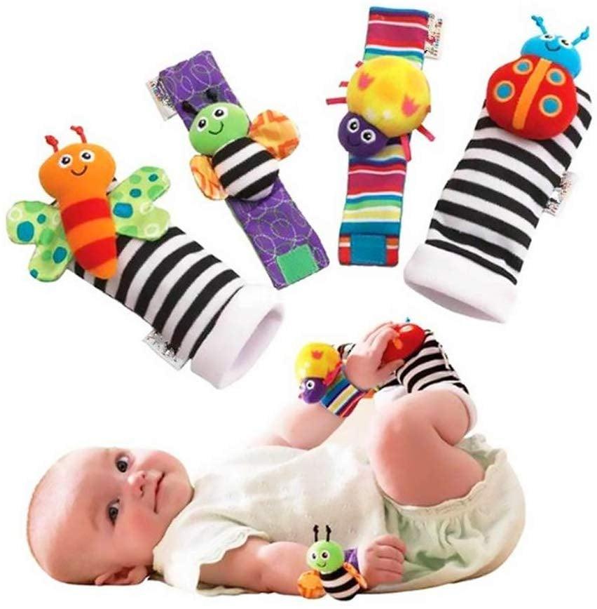 For Infants: Foot Finders & Wrist Rattles For Infants