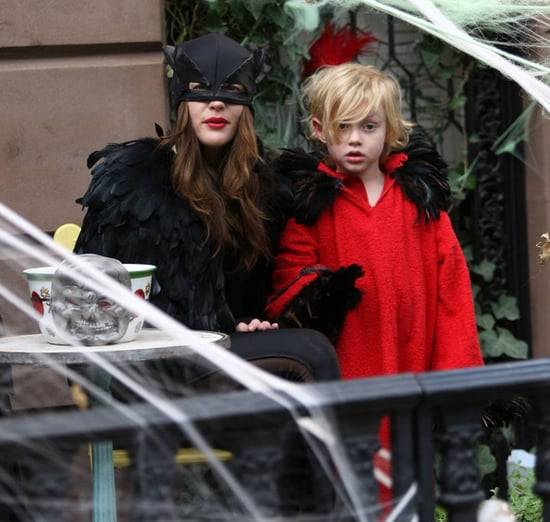 Liv Tyler And Son Milo Ready For Halloween In New York