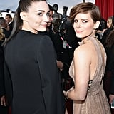 Sisters Ronney and Kate Mara attended the SAG Awards together.