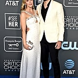 Emily Blunt and John Krasinski at the 2019 Critics' Choice Awards