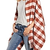 Madewell Small Buffalo Plaid Cape Scarf