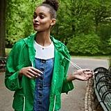 UO Nylon Drawstring Anorak Jacket