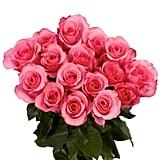 Globalrose Fresh Dark Pink Color Roses
