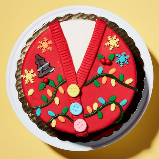 How to Make An Ugly Sweater Ice Cream Cake