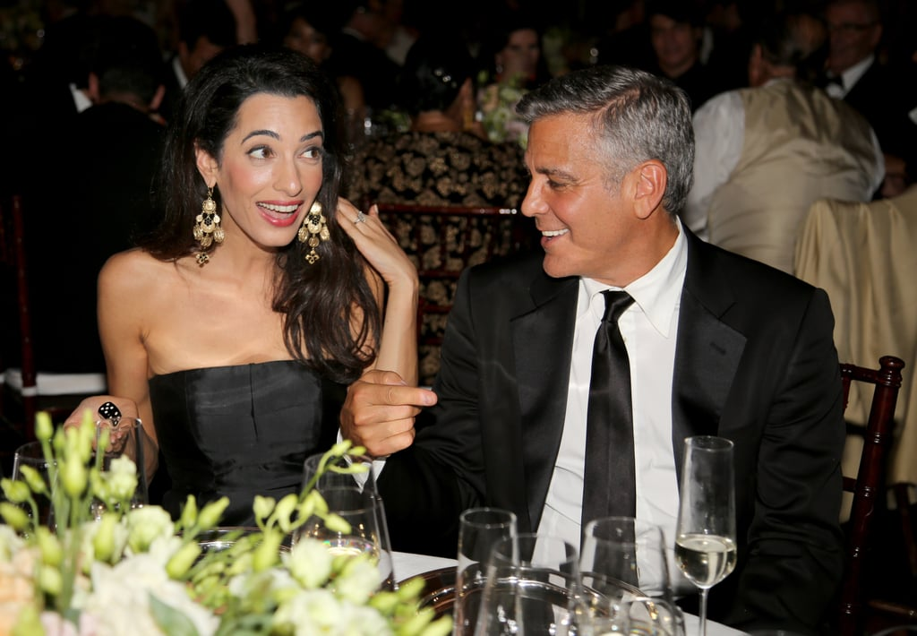 George and Amal Share the Look of Love, Reveal Wedding Details