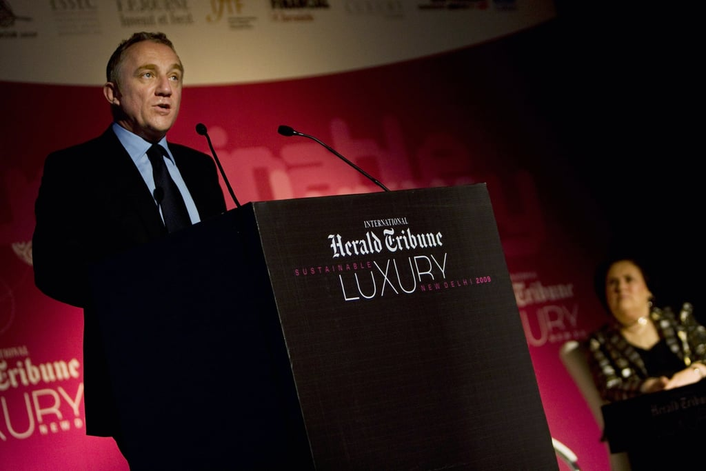 Chairman and CEO of PPR, Francois-Henri Pinault