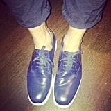 Henry Holland's Prada lace-ups. 'Nuff said.