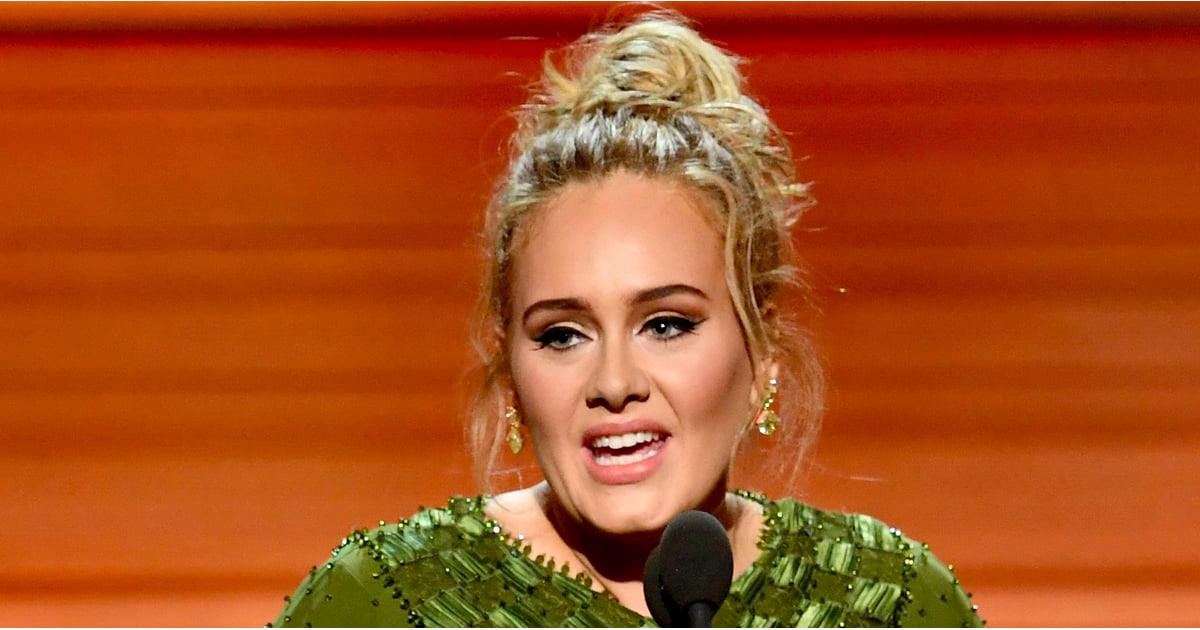 Adele Sweetly Mentions Her Son While Accepting Her Grammy For Song of the Year