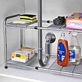 Home Basics 2-Tier Cabinet Organiser