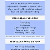 3-Month Weight-Loss Workout Plan