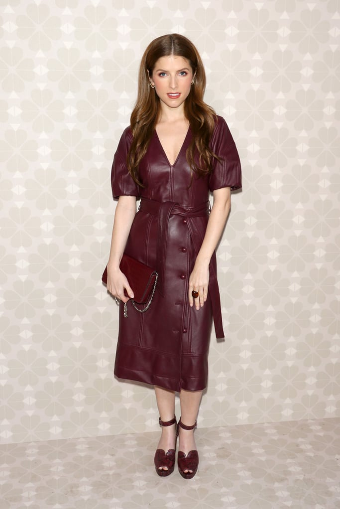 Anna Kendrick at the Kate Spade New York New York Fashion Week Show