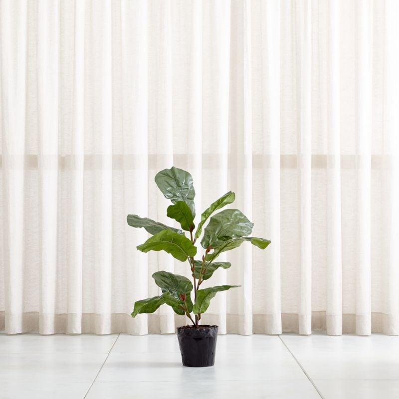 Bonnie: Faux Fiddle Leaf Fig Tree