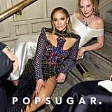 Pictured: Jennifer Lopez and Uma Thuman