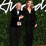 Julia Roberts at the British Fashion Awards 2019 in London