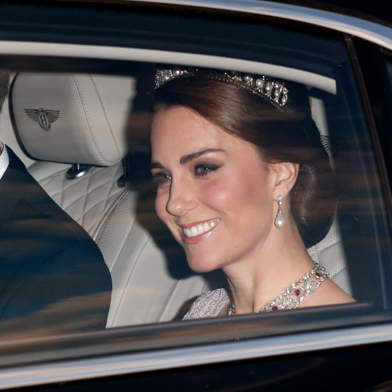 Kate Middleton Diamond and Ruby Necklace at State Banquet