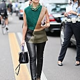 Miroslava Duma gave us one more reason to break out our leather pants right now. Source: Greg Kessler