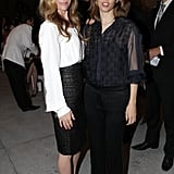 Leslie Mann and Sofia Coppola
