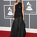 Miley at the Grammys in 2009