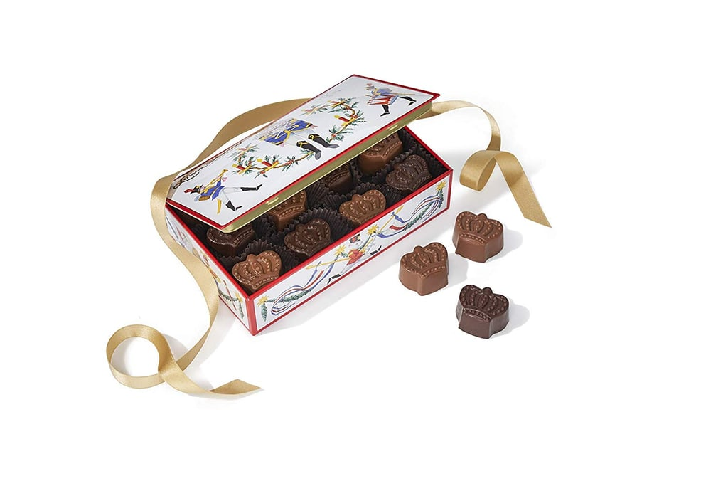 Louis Sherry Nutcracker Tin With Sea-Salt Caramel Truffles