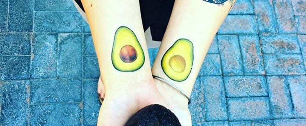 Healthy Food Tattoos