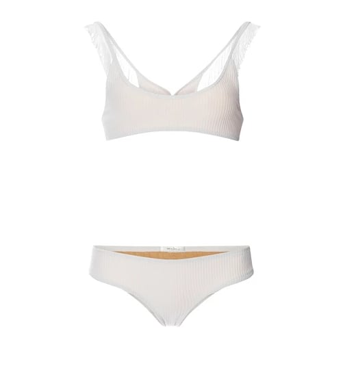 Made by Dawn Ribbed Scoop Neck Bikini Set ($260)