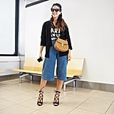 Lengthen Your Leg With Lace-Up Heels