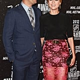 Joshua Jackson and Diane Kruger looked cute together on the red carpet in Las Vegas.