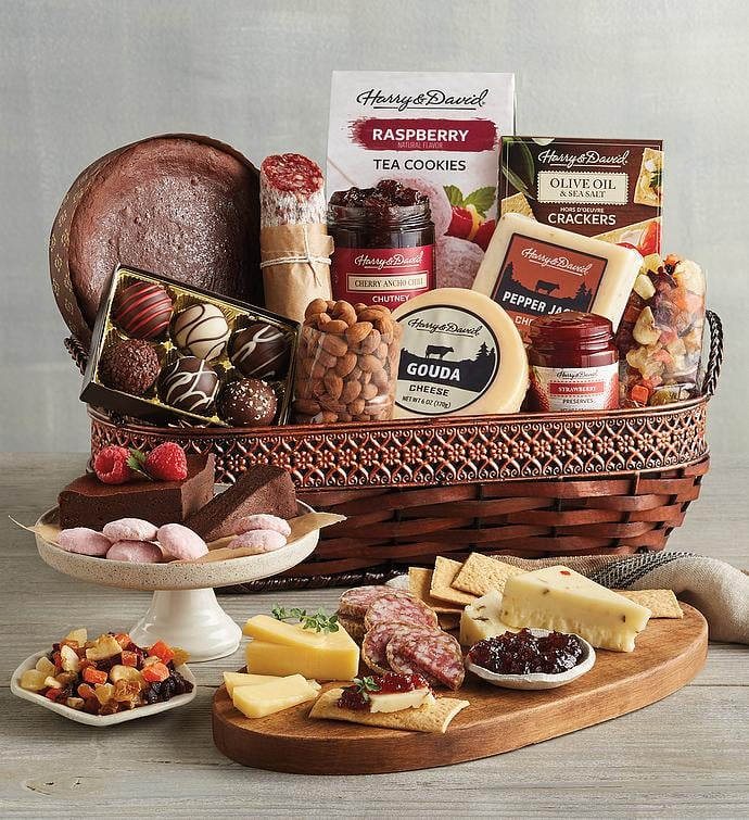 Harry & David Gourmet Specialty Snacks Basket