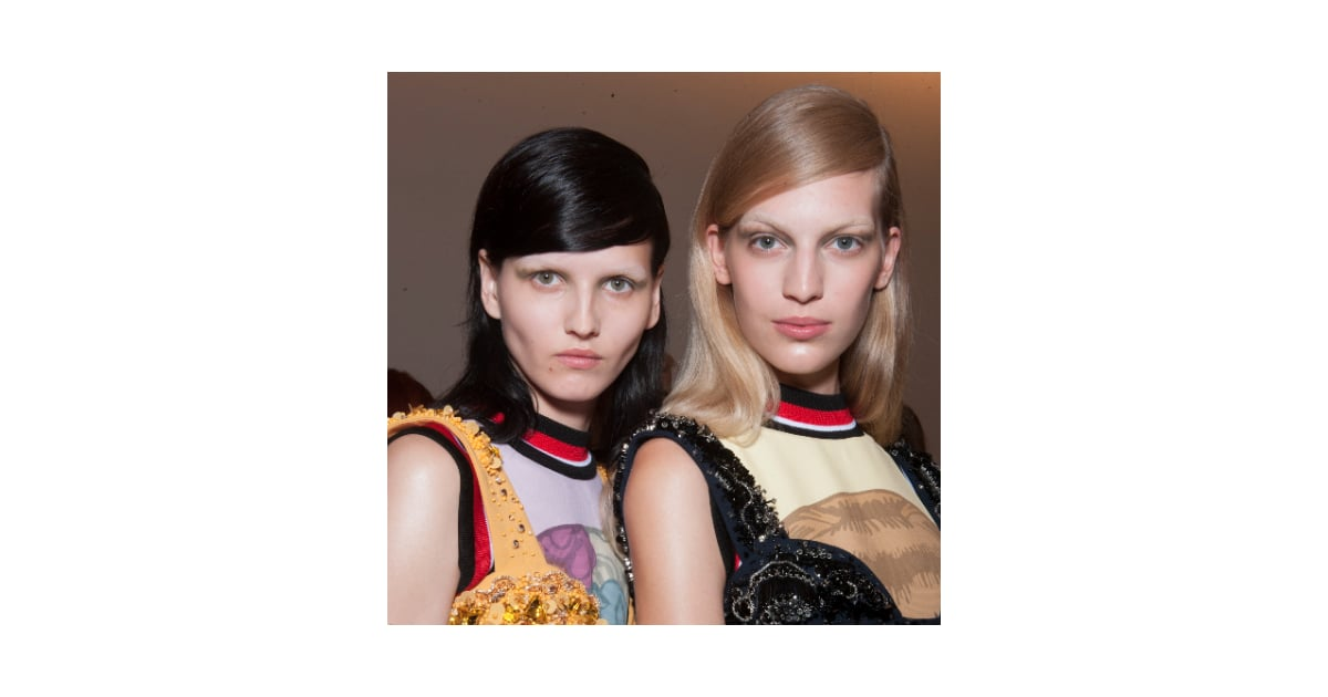 Prada Spring 2014 Hair and Makeup | Runway Pictures | POPSUGAR Beauty