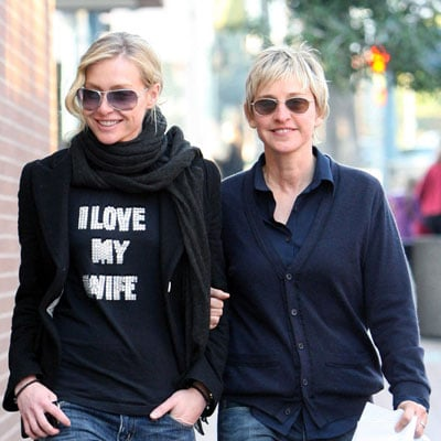Favorite Newlyweds: Ellen DeGeneres and Portia de Rossi