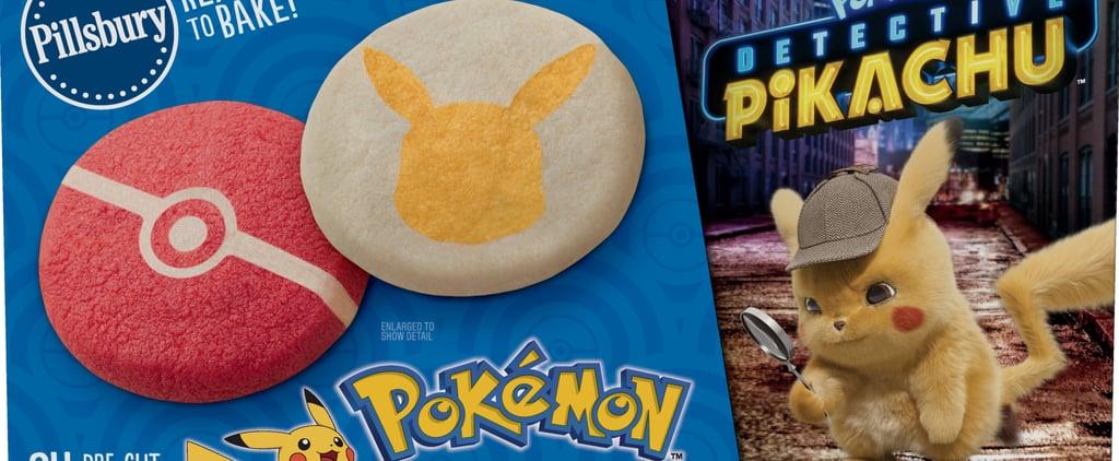Pokémon Detective Pikachu Pillsbury Sugar Cookies