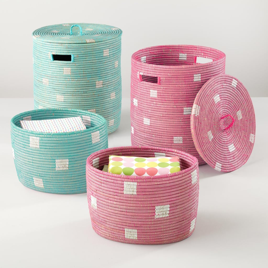 Stash Your Stuff in Land of Nod Charming Baskets