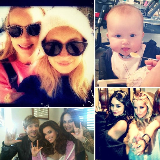 Celebrity Twitter Pictures Week of January 11, 2012