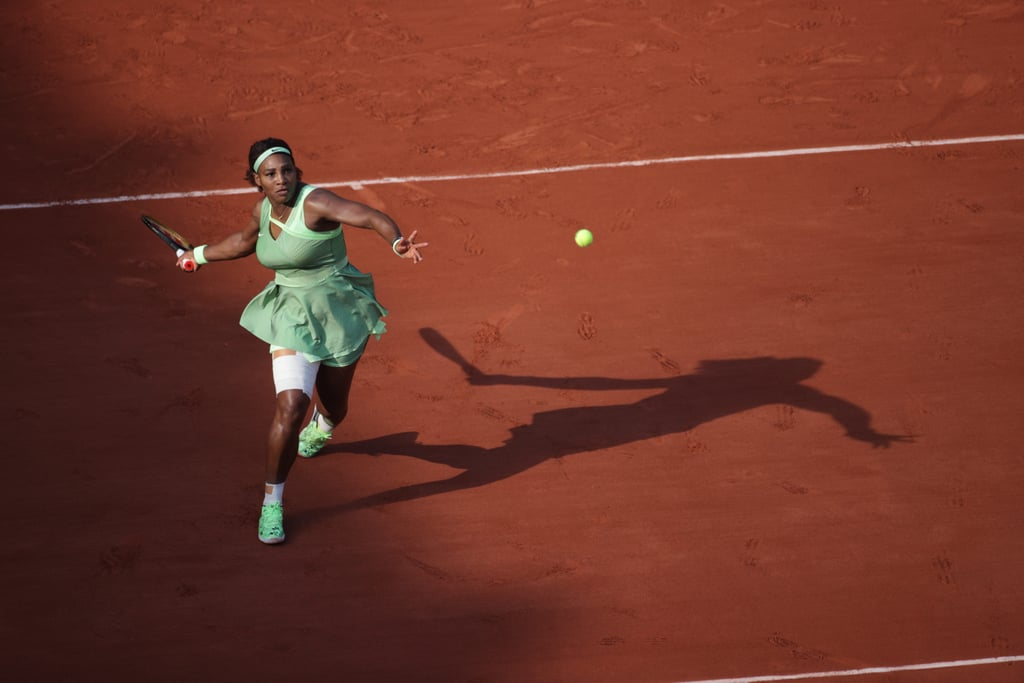 Serena Williams in All Green Is Giving Us Life