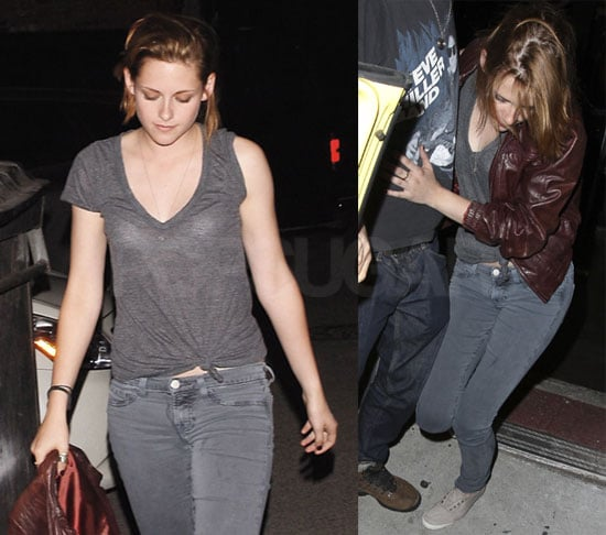 Pictures of Kristen Stewart Leaving a Club in LA