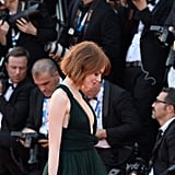 Emma Stone's Lob From the Side