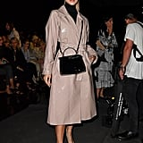 Jasmine Sanders at the Fendi Milan Fashion Week Show