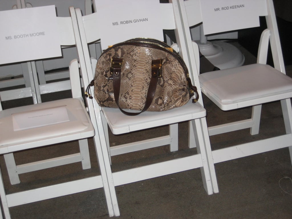 A Lonesome Python Bag at Behnaz Sarafpour