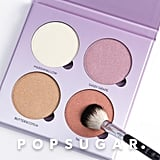 """POPSUGAR: What inspired the Glow Kit in Sweets? Claudia Soare: Sweets, candies, and, as always, color. Now that we have three Glow Kits in what I call """"traditional colors"""" for all skin tones, I felt the need to branch out with more color. I wanted to keep the Glow Kit launches fun and exciting for our customers, as well as provide them with some variance of shades for people who like to break out of the norm.  PS: How did you pick the shades for this quad? CS: I thought of the group first, meaning all four shades, and then I thought of candies that created a color scheme I wanted. For these particular colors, a lot of time was dedicated to creating interesting combinations of pearls. This product will feel different when customers wear it because it is more dimensional, the shades have different pearl sizes and colors that are clearly visible. You'll notice the difference by just looking at it!"""
