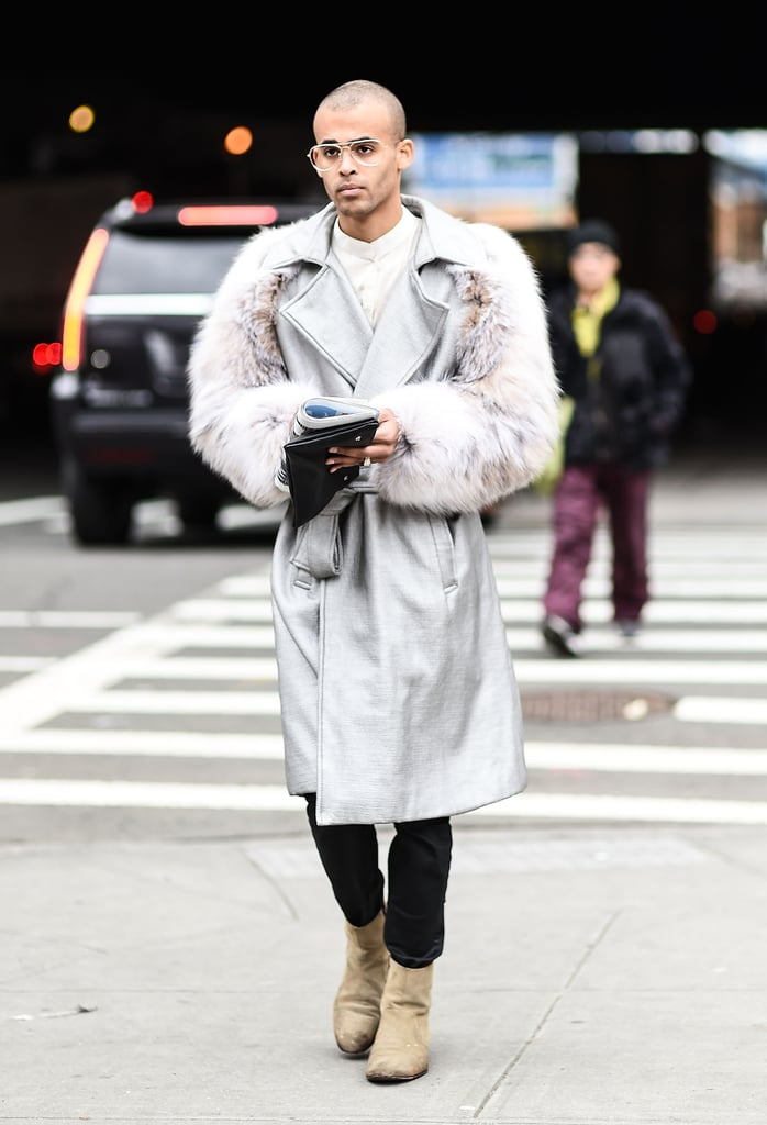 Men 39 S Fashion Week Street Style Fall 2016 Popsugar Fashion