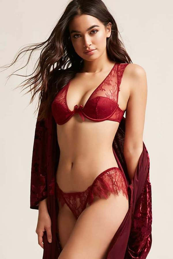 aed06acbfb09 Best Lingerie From Forever 21 | POPSUGAR Fashion