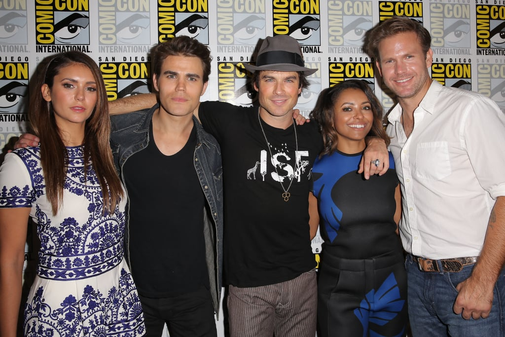 All the Sexy, Silly Things the Vampire Diaries Cast Said at Comic-Con