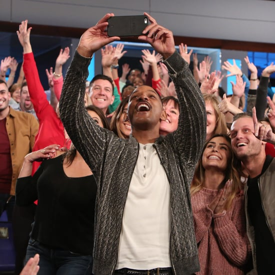 Will Smith Taking Selfies With the Ellen DeGeneres Audience
