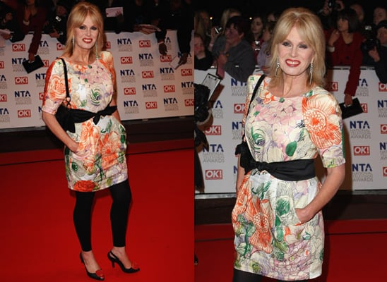 Joanna Lumley in Stella McCartney at National Television Awards 2010
