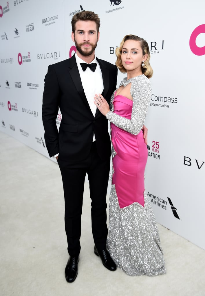 In March 2018, Liam and Miley stunned at the 26th annual Elton John AIDS Foundation Academy Awards viewing party.