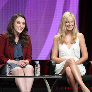 Kat Dennings, Michael Patrick King on 2 Broke Girls at TCA