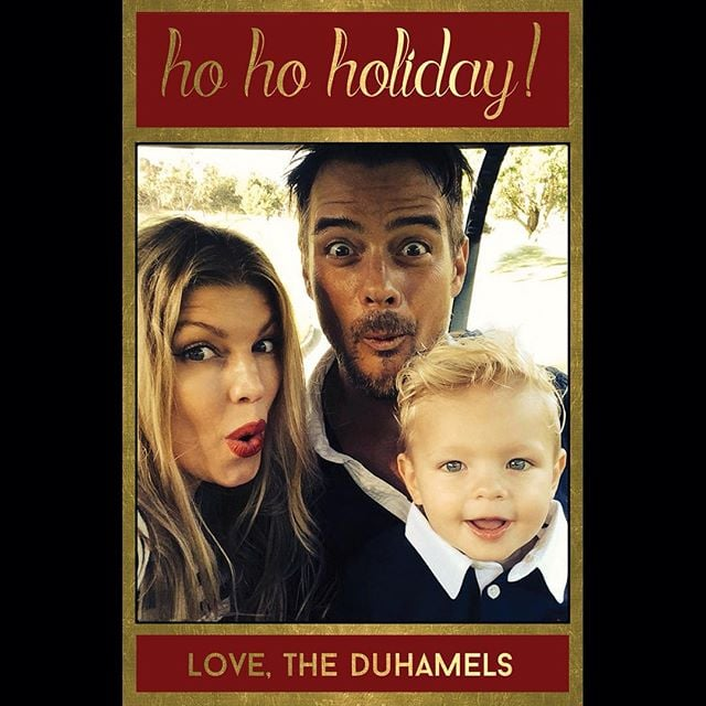 celebrity holiday cards 2015 popsugar celebrity - Best Holiday Cards