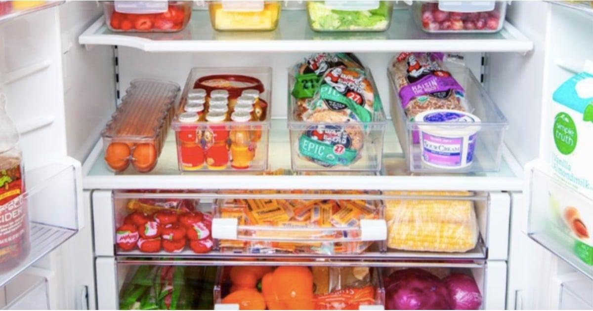Refrigerator Organization 2018 Popsugar Family