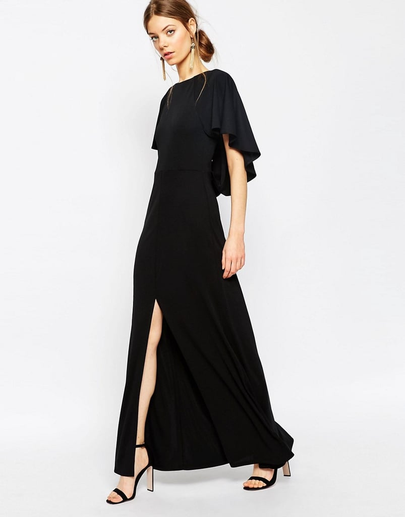 ASOS Collection Crepe Maxi Dress With Soft Cape Back Detail ($65)